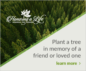 plant a memorial tree for a friend or loved one