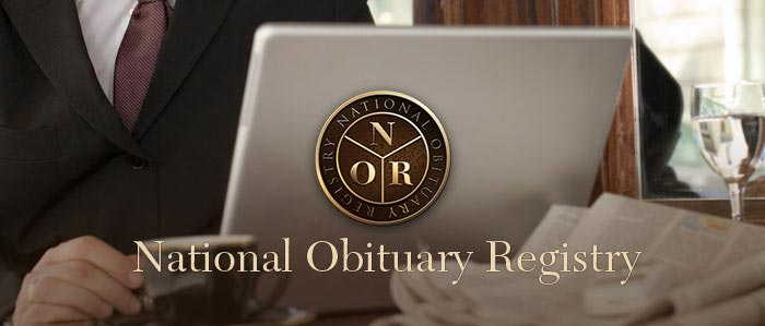 national obituary registry